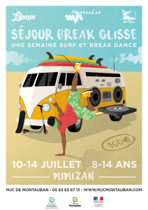 Séjour break/surf 8-14 ans