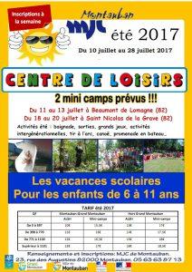 Accueil de Loisirs Vacances juillet 2017