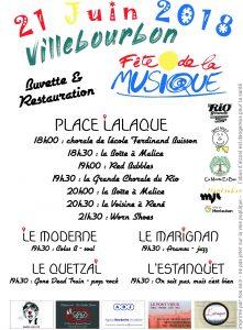 Fête de la Musique à Villebourbon!!!