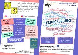 Les prochains mercredis de l'Espace Jeunes