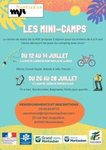 Trousseau mini-camps de juillet