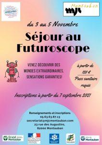 Séjour Futuroscope pour les 11-17 ans